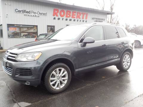 2013 Volkswagen Touareg for sale at Roberti Automotive in Kingston NY