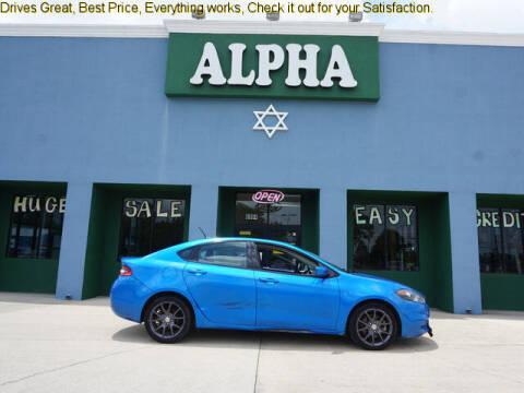 2016 Dodge Dart for sale at ALPHA AUTOMOBILE SALES, LLC in Lafayette LA