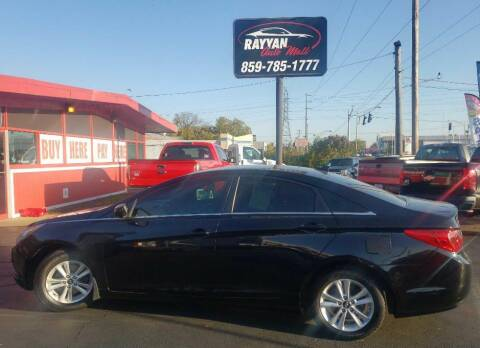 2013 Hyundai Sonata for sale at Rayyan Auto Sales LLC in Lexington KY