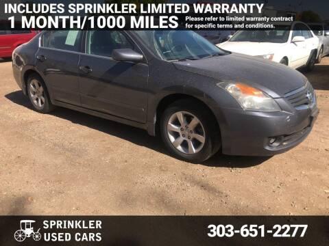 2008 Nissan Altima for sale at Sprinkler Used Cars in Longmont CO