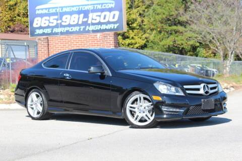 2013 Mercedes-Benz C-Class for sale at Skyline Motors in Louisville TN