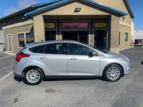 2012 Ford Focus for sale at Advantage Auto Sales in Garden City ID