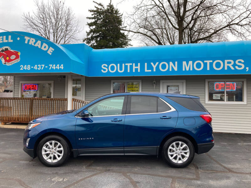 2019 Chevrolet Equinox for sale at South Lyon Motors INC in South Lyon MI