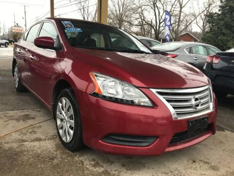 2014 Nissan Sentra for sale at King Louis Auto Sales in Louisville KY