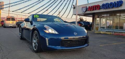 2015 Nissan 370Z for sale at I-80 Auto Sales in Hazel Crest IL
