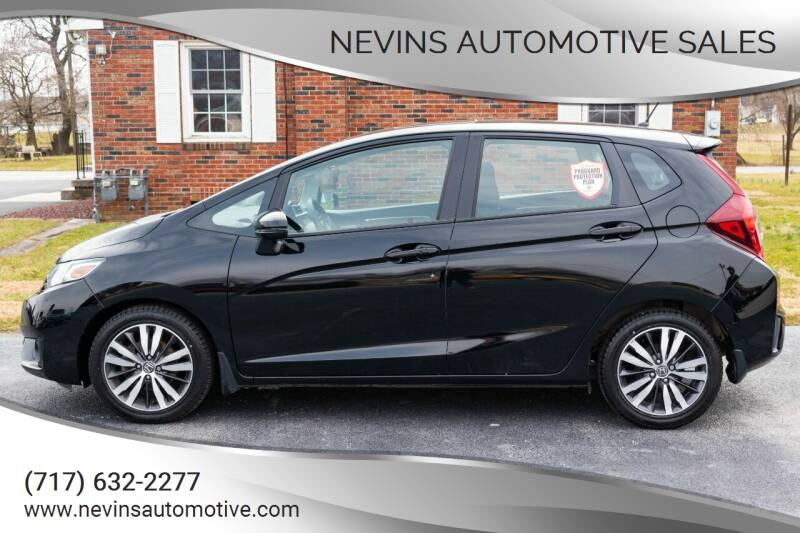 2017 Honda Fit for sale at Nevins Automotive Sales in Hanover PA