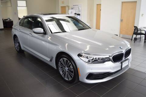 2020 BMW 5 Series for sale at BMW OF NEWPORT in Middletown RI