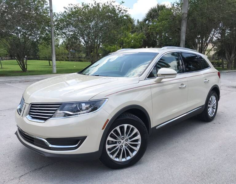 2018 Lincoln MKX for sale at FIRST FLORIDA MOTOR SPORTS in Pompano Beach FL