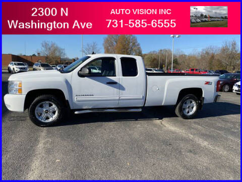 2011 Chevrolet Silverado 1500 for sale at Auto Vision Inc. in Brownsville TN