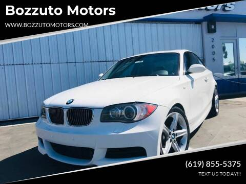 2009 BMW 1 Series for sale at Bozzuto Motors in San Diego CA