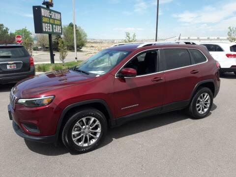 2019 Jeep Cherokee for sale at More-Skinny Used Cars in Pueblo CO