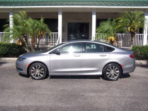 2015 Chrysler 200 for sale at Thomas Auto Mart Inc in Dade City FL