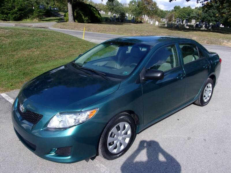2010 Toyota Corolla for sale at Pyles Auto Sales in Kittanning PA