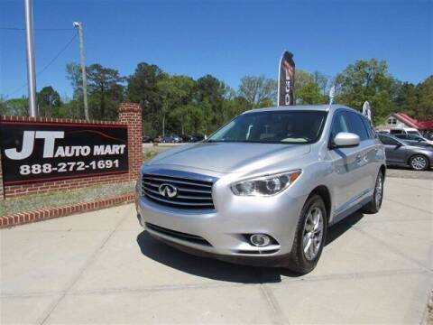 2015 Infiniti QX60 for sale at J T Auto Group in Sanford NC