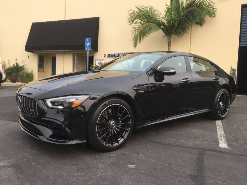 2019 Mercedes-Benz AMG GT for sale at MANGIONE MOTORS ORANGE COUNTY in Costa Mesa CA
