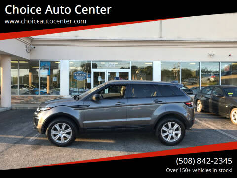 2016 Land Rover Range Rover Evoque for sale at Choice Auto Center in Shrewsbury MA