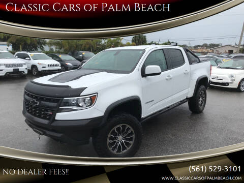 2018 Chevrolet Colorado for sale at Classic Cars of Palm Beach in Jupiter FL