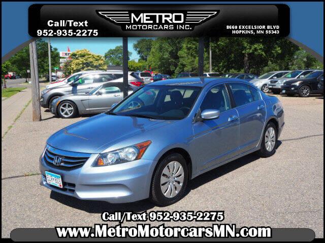 2011 Honda Accord for sale at Metro Motorcars Inc in Hopkins MN