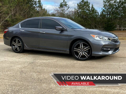 2016 Honda Accord for sale at Selective Imports in Woodstock GA