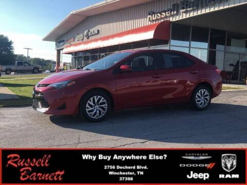 2019 Toyota Corolla for sale at Russell Barnett Chrysler Dodge Jeep Ram in Winchester TN