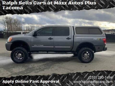 2014 Nissan Titan for sale at Ralph Sells Cars at Maxx Autos Plus Tacoma in Tacoma WA