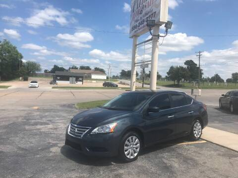 2014 Nissan Sentra for sale at Patriot Auto Sales in Lawton OK