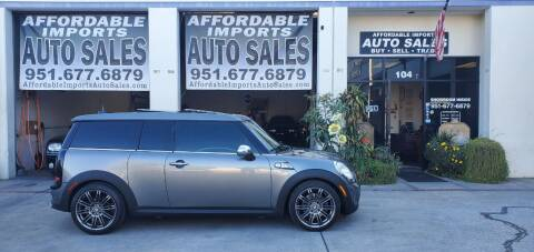 2008 MINI Cooper Clubman for sale at Affordable Imports Auto Sales in Murrieta CA