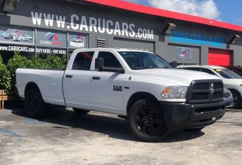 2018 RAM Ram Pickup 2500 for sale at CARUCARS LLC in Miami FL