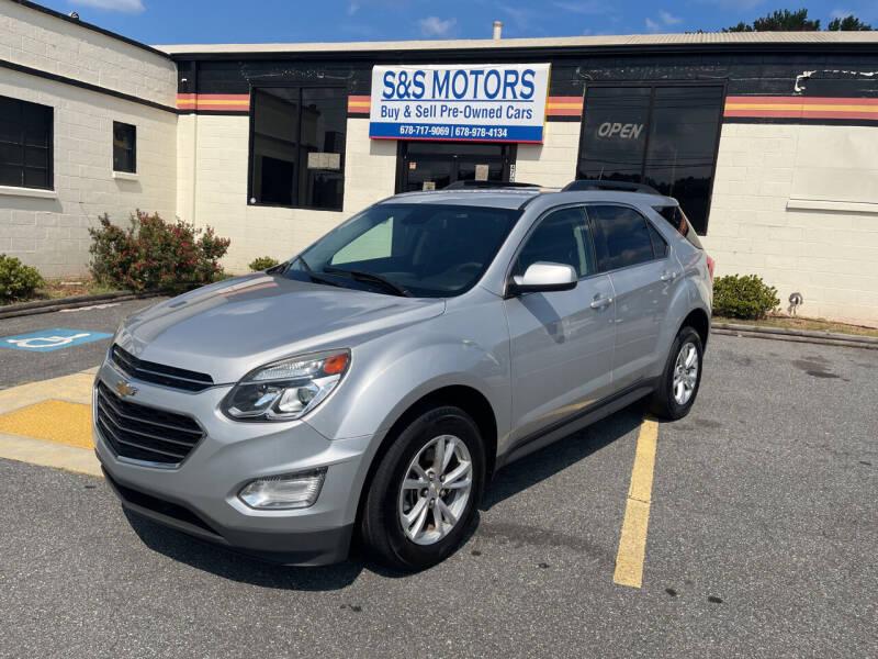 2016 Chevrolet Equinox for sale at S & S Motors in Marietta GA