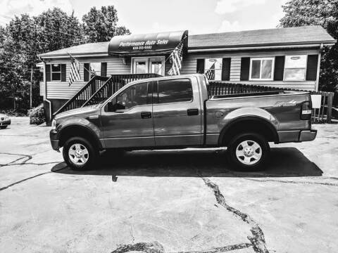 2004 Ford F-150 for sale at Performance Auto Sales in Hickory NC