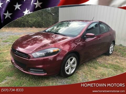 2015 Dodge Dart for sale at Hometown Motors in Maumelle AR
