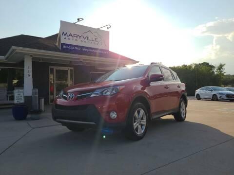 2014 Toyota RAV4 for sale at Maryville Auto Sales in Maryville TN