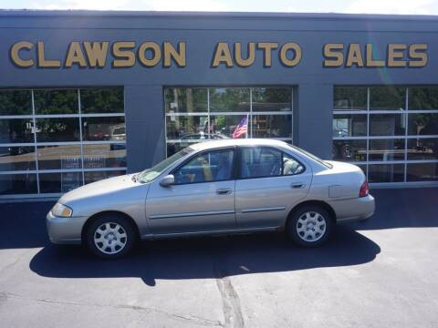 2000 Nissan Sentra for sale at Clawson Auto Sales in Clawson MI