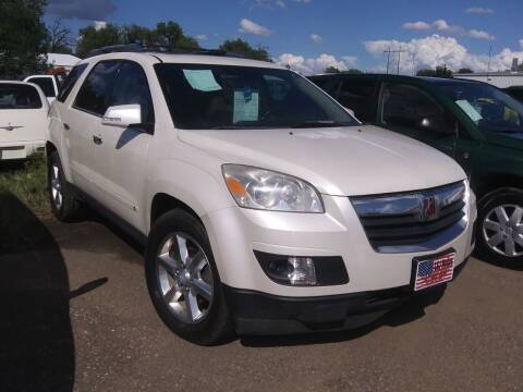2008 Saturn Outlook for sale at L & J Motors in Mandan ND