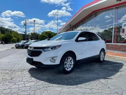 2019 Chevrolet Equinox for sale at USA Motor Sport inc in Marlborough MA