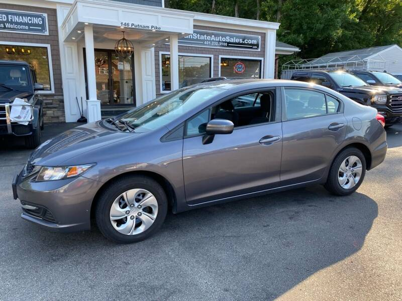 2015 Honda Civic for sale at Ocean State Auto Sales in Johnston RI