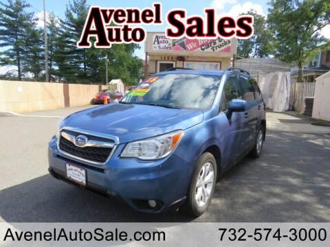 2015 Subaru Forester for sale at Avenel Auto Sales in Avenel NJ