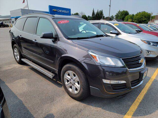 2015 Chevrolet Traverse for sale at Frenchie's Chevrolet and Selects in Massena NY