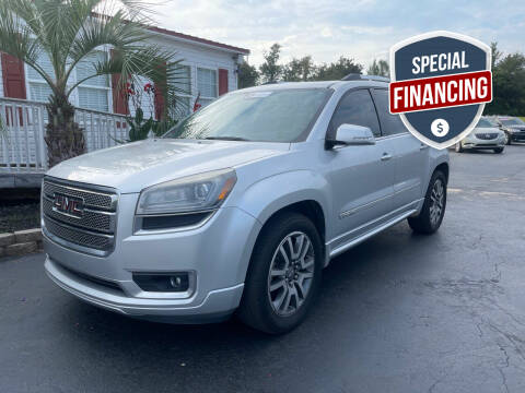 2013 GMC Acadia for sale at Rock 'n Roll Auto Sales in West Columbia SC