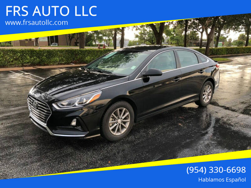 2019 Hyundai Sonata for sale at FRS AUTO LLC in West Palm Beach FL