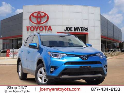 2018 Toyota RAV4 for sale at Joe Myers Toyota PreOwned in Houston TX