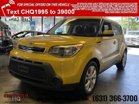 2014 Kia Soul for sale at CERTIFIED HEADQUARTERS in Saint James NY