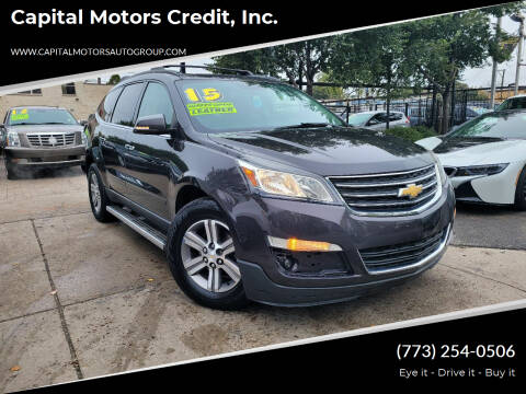 2015 Chevrolet Traverse for sale at Capital Motors Credit, Inc. in Chicago IL