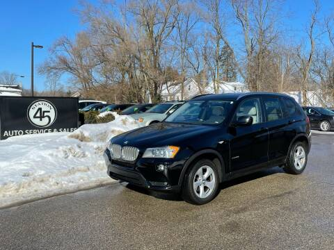 2011 BMW X3 for sale at Station 45 Auto Sales Inc in Allendale MI