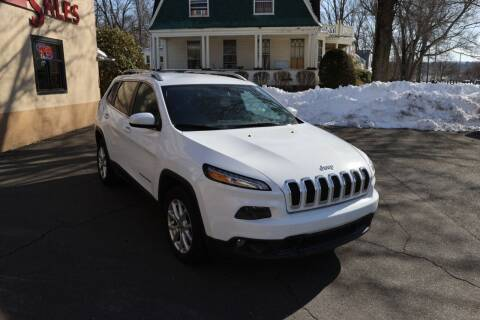 2018 Jeep Cherokee for sale at FENTON AUTO SALES in Westfield MA