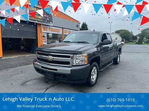 2010 Chevrolet Silverado 1500 for sale at Lehigh Valley Truck n Auto LLC. in Schnecksville PA