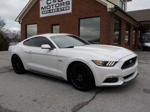 2017 Ford Mustang for sale at C & C MOTORS in Chattanooga TN