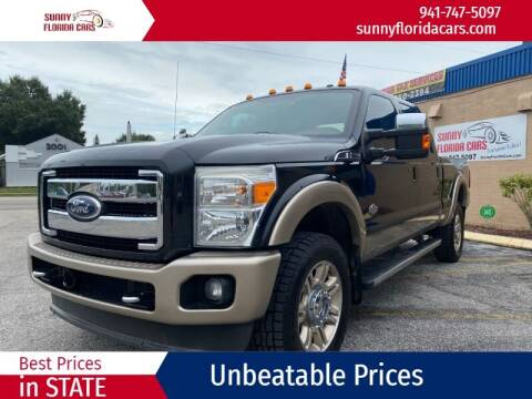 2011 Ford F-350 Super Duty for sale at Sunny Florida Cars in Bradenton FL
