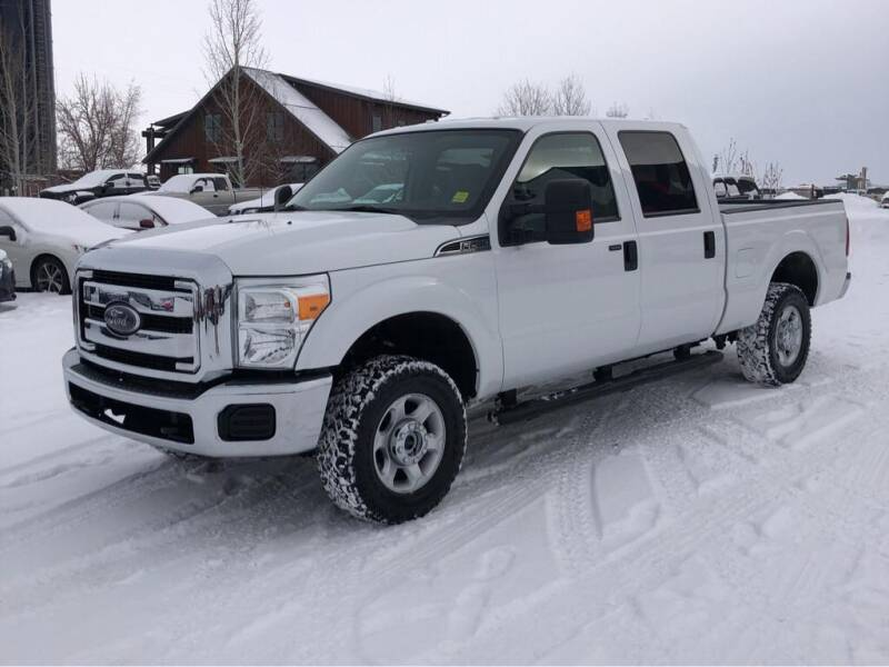 2014 Ford F-250 Super Duty for sale at Snyder Motors Inc in Bozeman MT