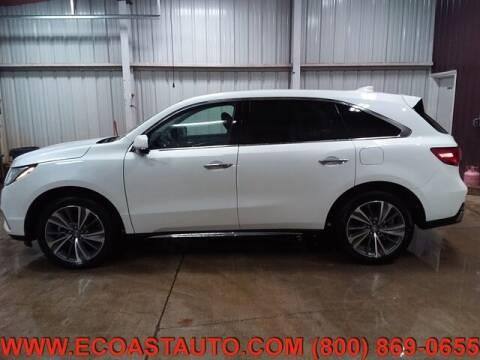 2018 Acura MDX for sale at East Coast Auto Source Inc. in Bedford VA